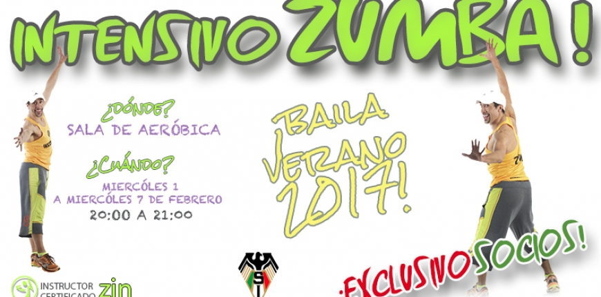 ¡Intensivo Zumba en Stadio Italiano!